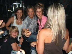David Guetta a rajongókkal